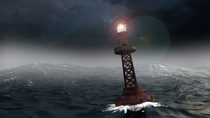 buoy during storms