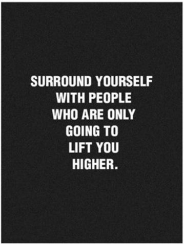 surround yourself with the best