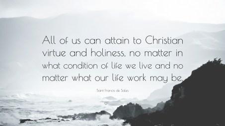 St. Francis de Sales quote