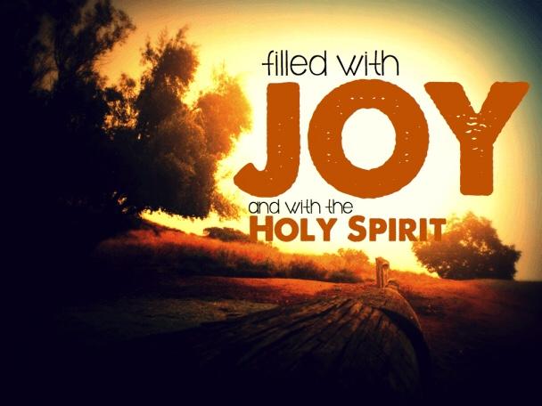 Joy and Holy Spirit
