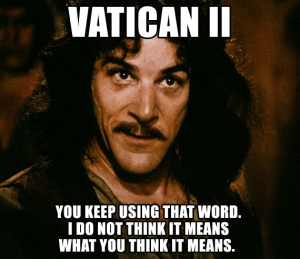 Vatican II Meme