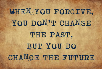 Forgiveness is tough