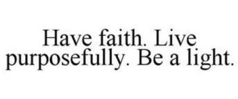 live purposefully