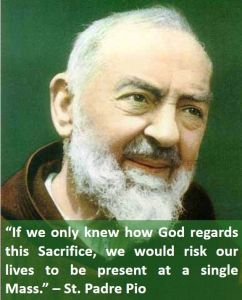 St. Padre Pio Quote