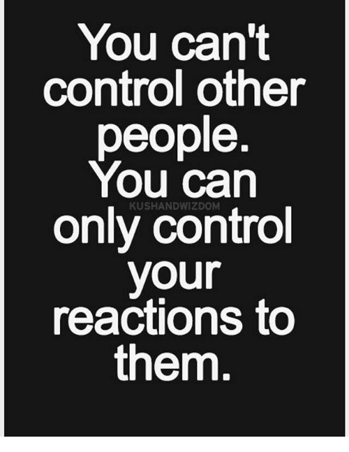 Control reactions