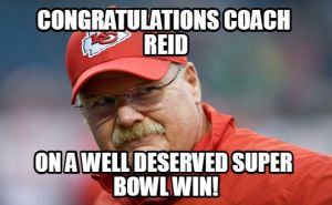 Andy Reid Super bowl meme