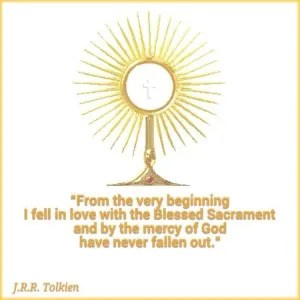 Tolkien and Eucharist