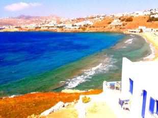 View from the Hotel (Mykonos)
