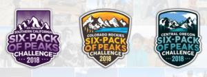 six pack of peaks, so cal six pack of peaks, nor cal six pack of peaks, hiking challenges