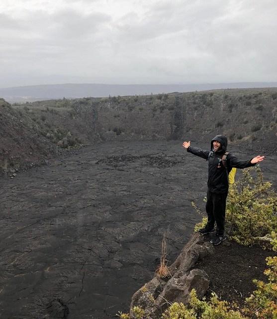 Keanakako'i Crater and The Lava Tree Hike