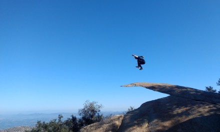 Potato Chip Rock (Mount Woodson) via Lake Poway