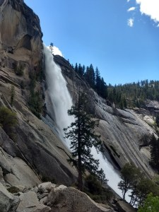 Vernal and Nevada Falls via The Mist Trail