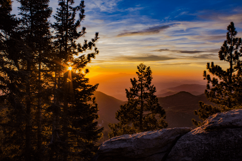San Jacinto Peak Sunset