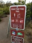 Kwaay Paay Peak Trail, Mission Trails Regional Park