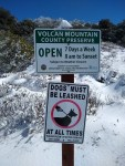Volcan Mountain Hiking Trail Guide