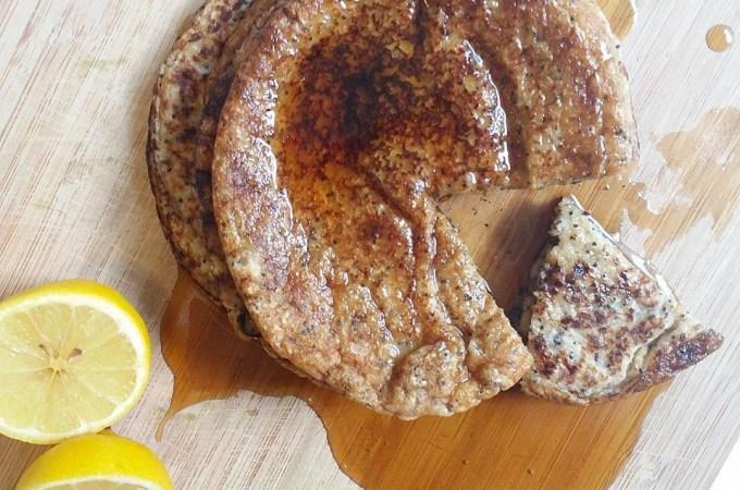 Pancakes de Limón-Amapola.