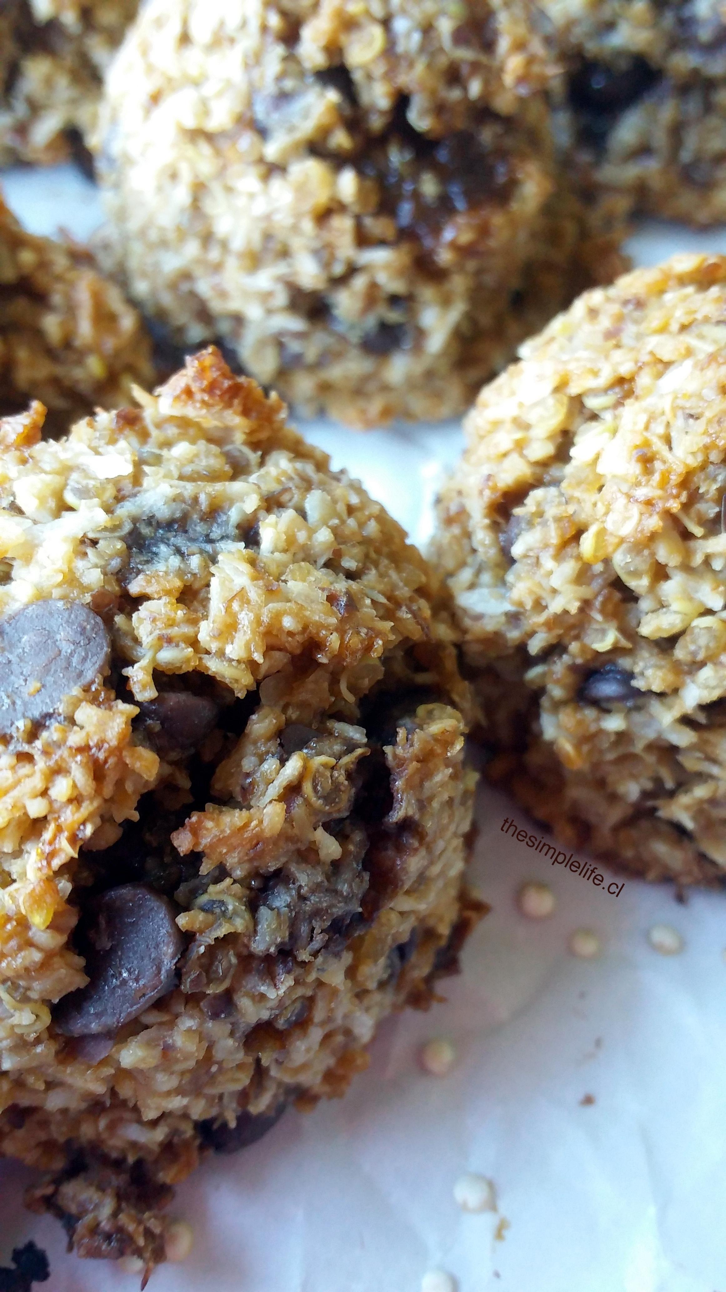 Las Mejores Galletas de Quinoa con Chips de Chocolate 6