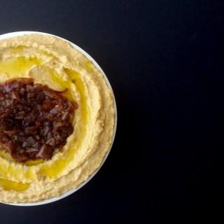 Hummus de Cebolla Caramelizada 4