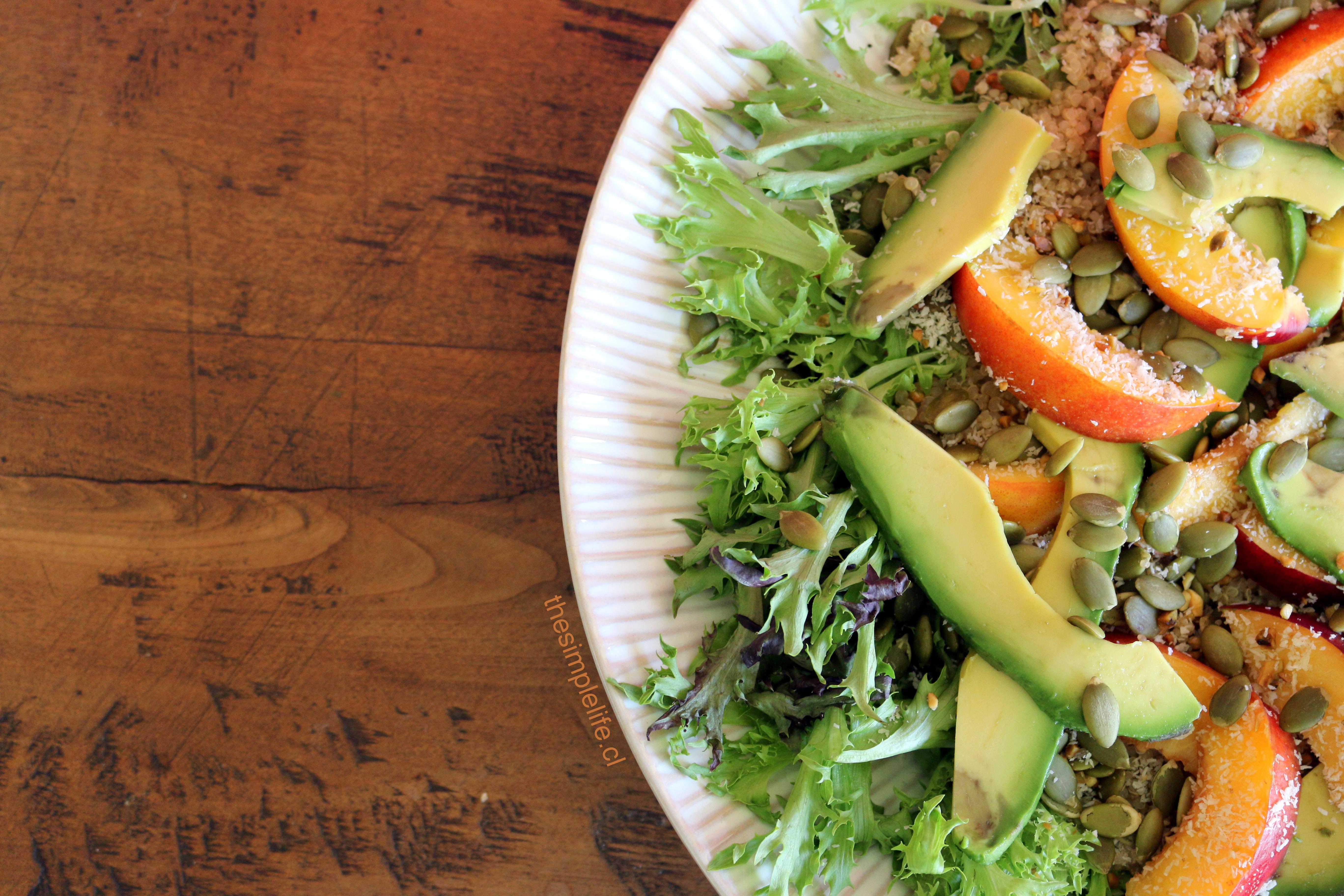 Ensalada Veraniega de Quinoa 1