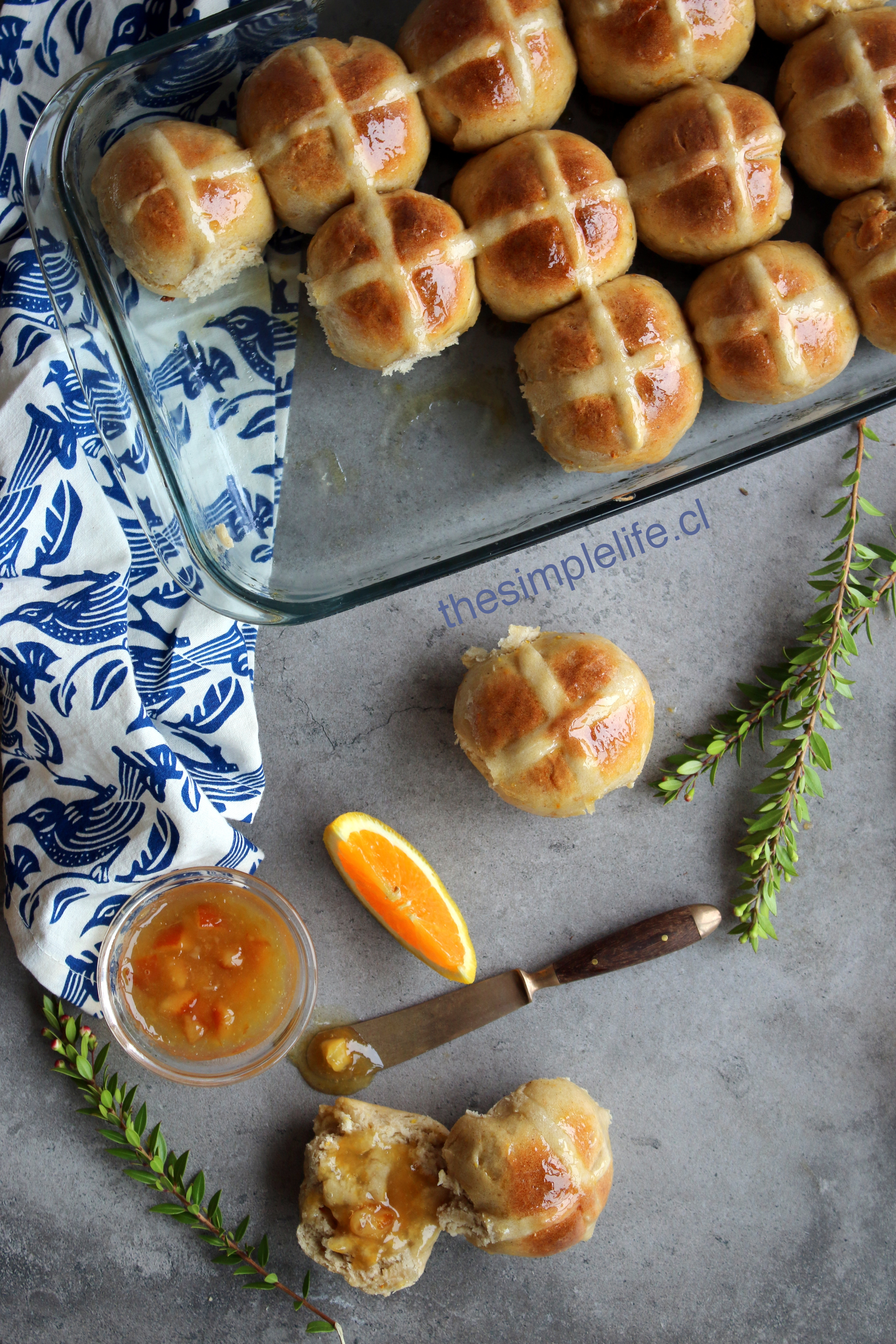 Hot Cross Buns Bollitos de Pascua 4