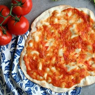 La Mejor Masa de Pizza Sin Leudado 6