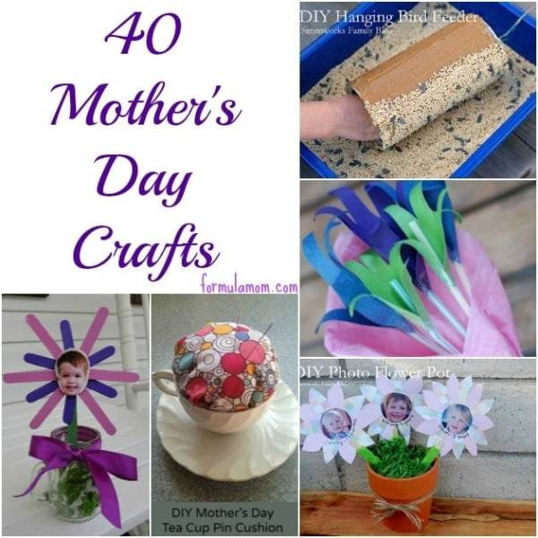 40 Mothers Day Crafts • The Simple Parent
