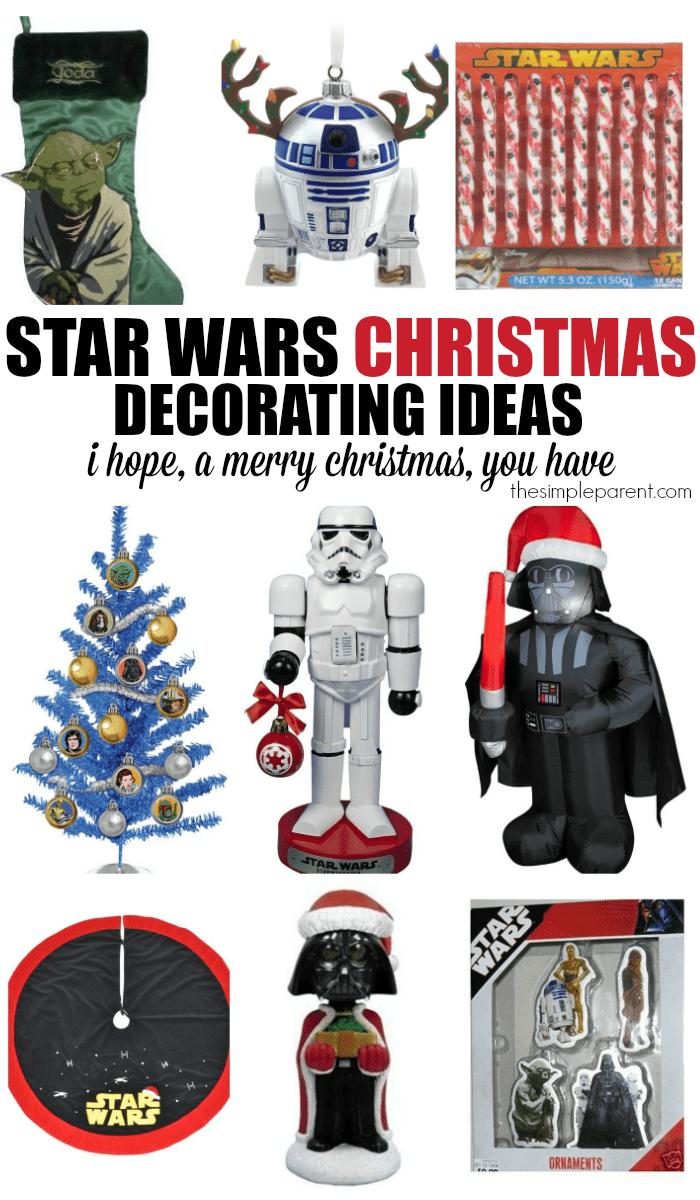 star wars christmas decoration ideas. Black Bedroom Furniture Sets. Home Design Ideas