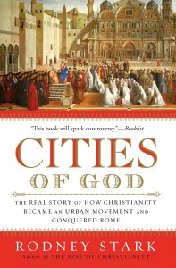 Cover of cities of God by Rodney Stark