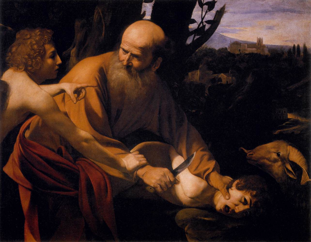 Caravaggio-The Sacrifice of Isaac