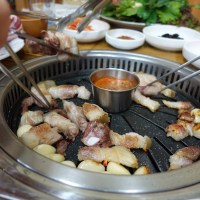 Tohpyunggol (Black Pork Belly BBQ), Jeju Island
