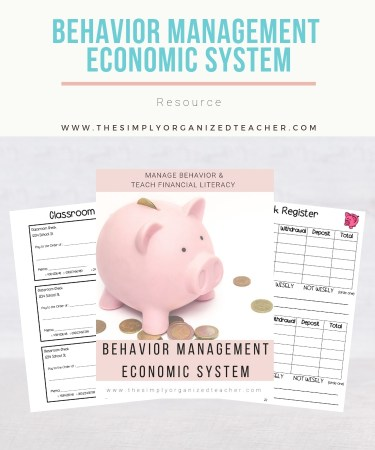 Looking for fun ways to engage your students in a positive behavior plan while teaching them at the same time? My Classroom Economic Behavior System is available to help classroom teachers implement an engaging behavior system as well as teach personal financial literacy