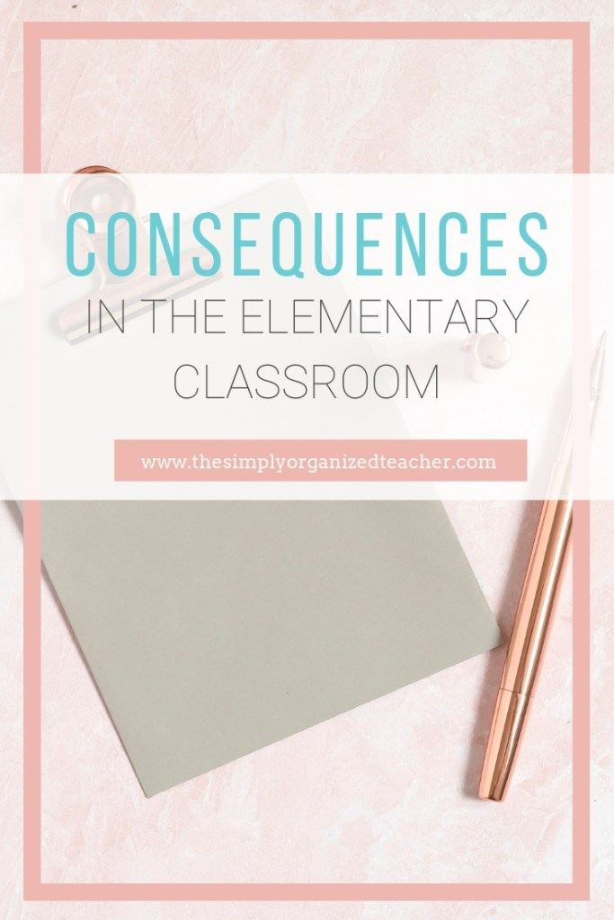 Hold students accountable with fair and just consequences that match the behavior. No more sitting out at recess for turning in your work late. This podcast will share alternate ways to assign consequences to your students.