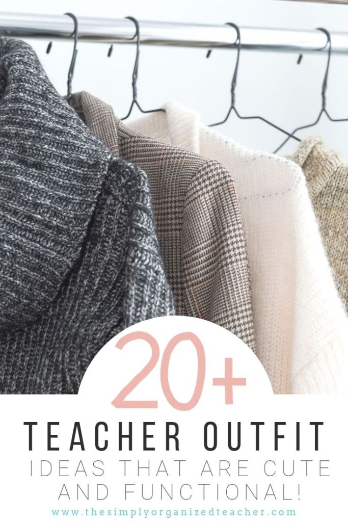 Upgrade your teacher wardrobe with this guide to over a month of outfit ideas.