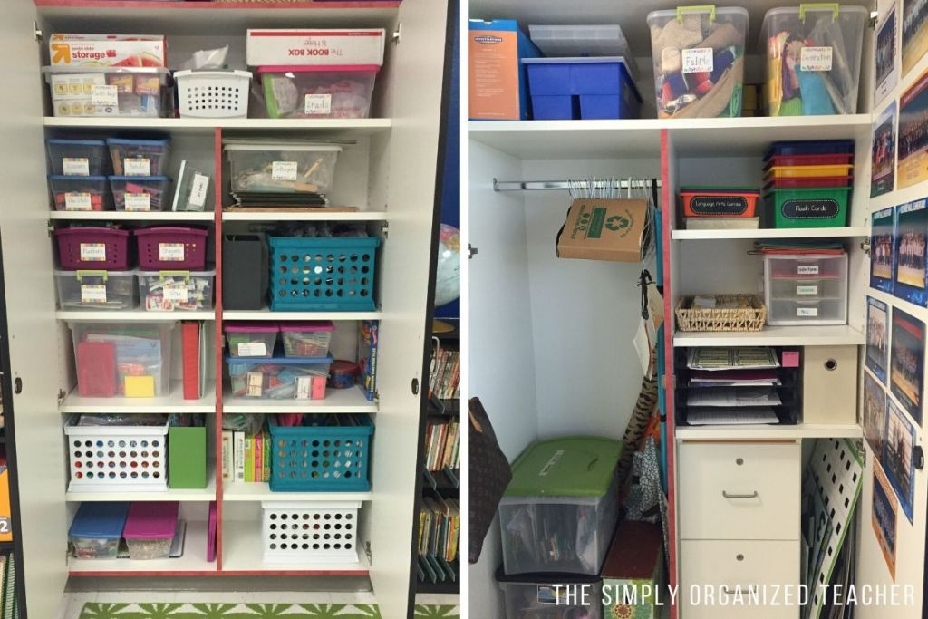 Looking to organize your classroom cabinets? This blog shares ways you can organize your cabinets efficiently and effectively.
