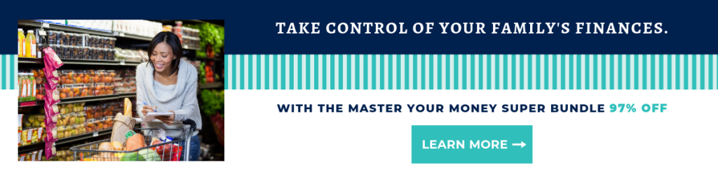 Manage your money with the Master Your Money Super Bundle