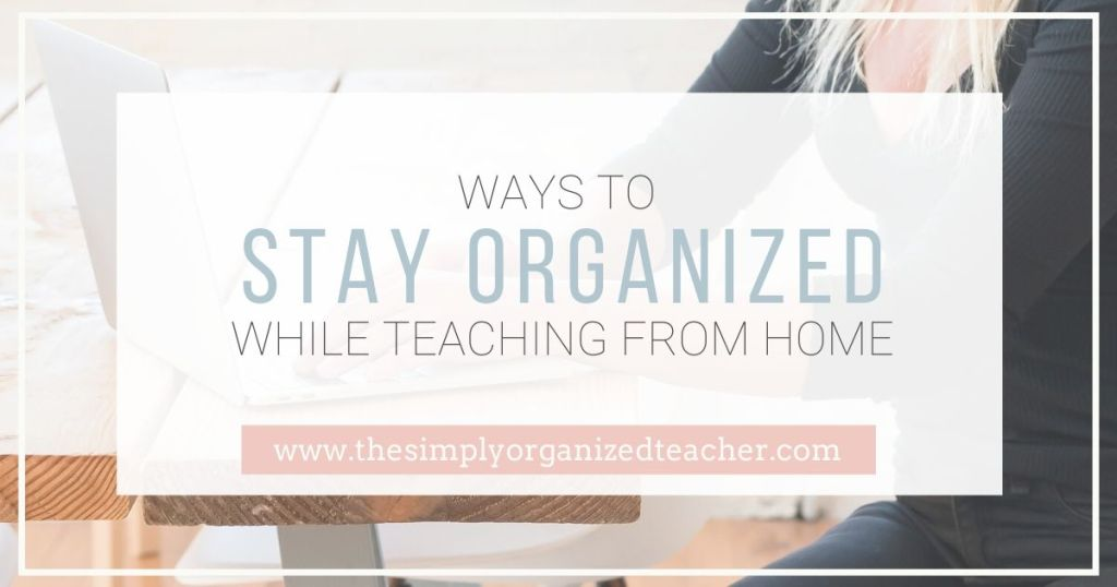 Looking to organize your online teaching? This post will share how to structure your day and time.