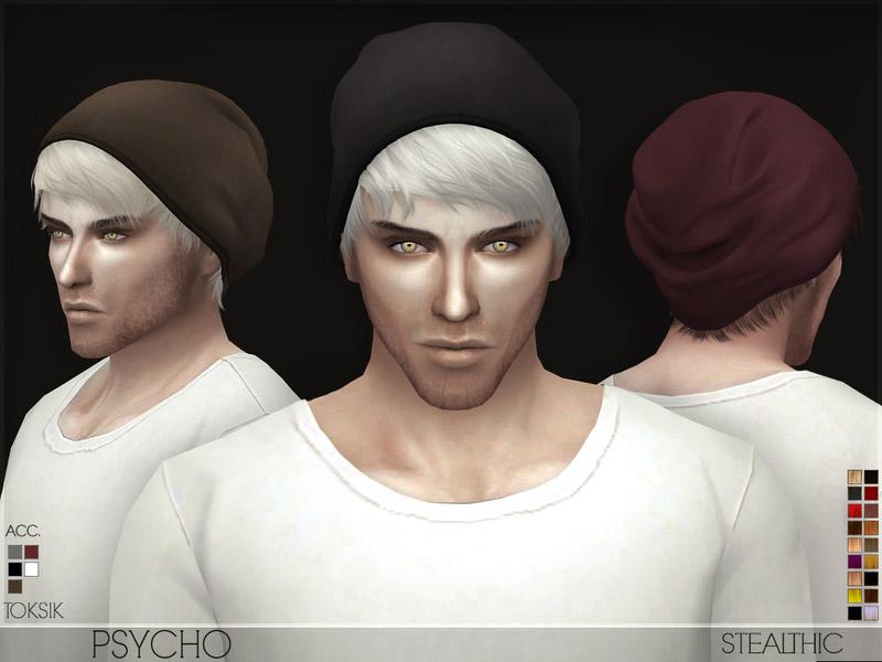 stealthic - psycho male hair