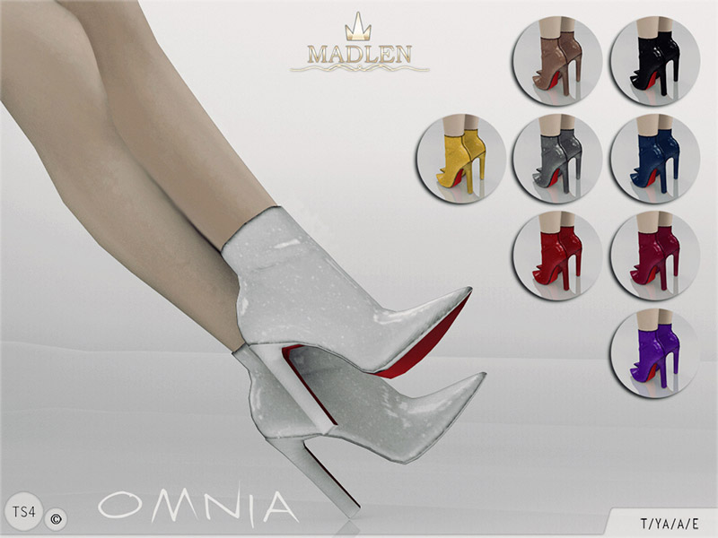 Madlen Omnia Boots The Sims 4 Catalog