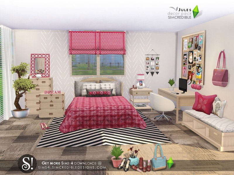 Jules decor pack - The Sims 4 Catalog