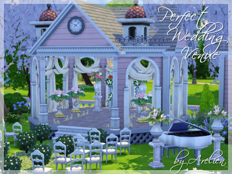 Perfect Wedding Venue The Sims 4 Catalog