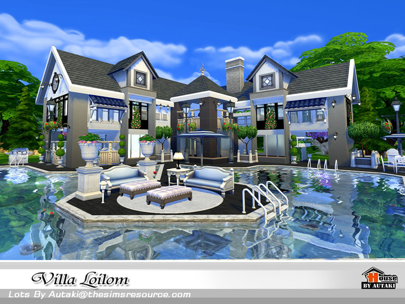 Villa Loilom The Sims 4 Catalog