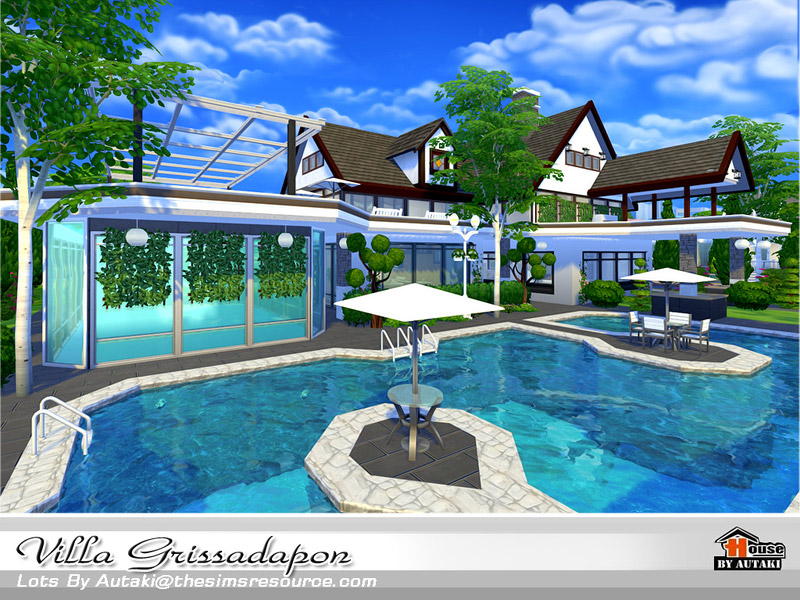 Villa Grissadapon The Sims 4 Catalog
