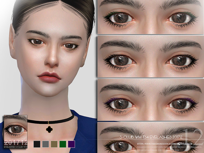 e32706ff8ea S-Club WM ts4 eyelashes 201712 - The Sims 4 Catalog