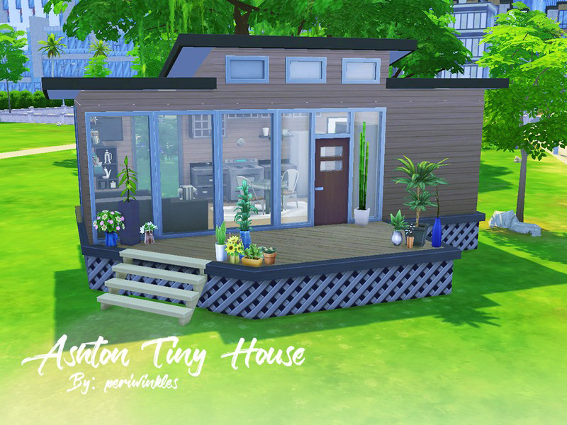 SC4 126110 MAIN - 18+ Small House Floor Plans Sims 4 Background