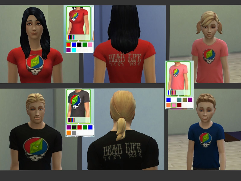 Steal Your Plumbob! Shirts - The Sims 4 Catalog