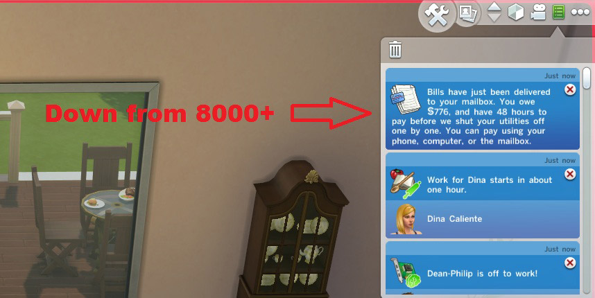 Realistic Bills (Not too high, not too low) - The Sims 4 Catalog