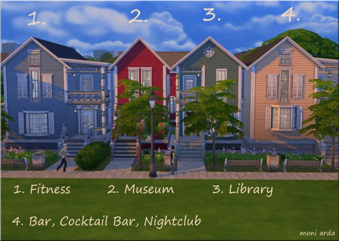 Simmers Street lot - The Sims 4 Catalog