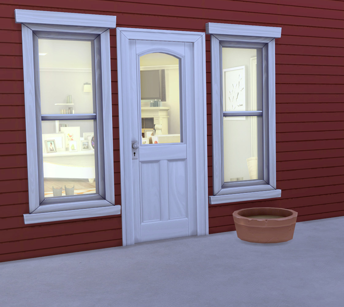 12 Wooden Panel Doors Restored To New The Sims 4 Catalog
