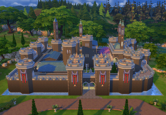 Game Of Thrones Winterfell Castle The Sims 4 Catalog