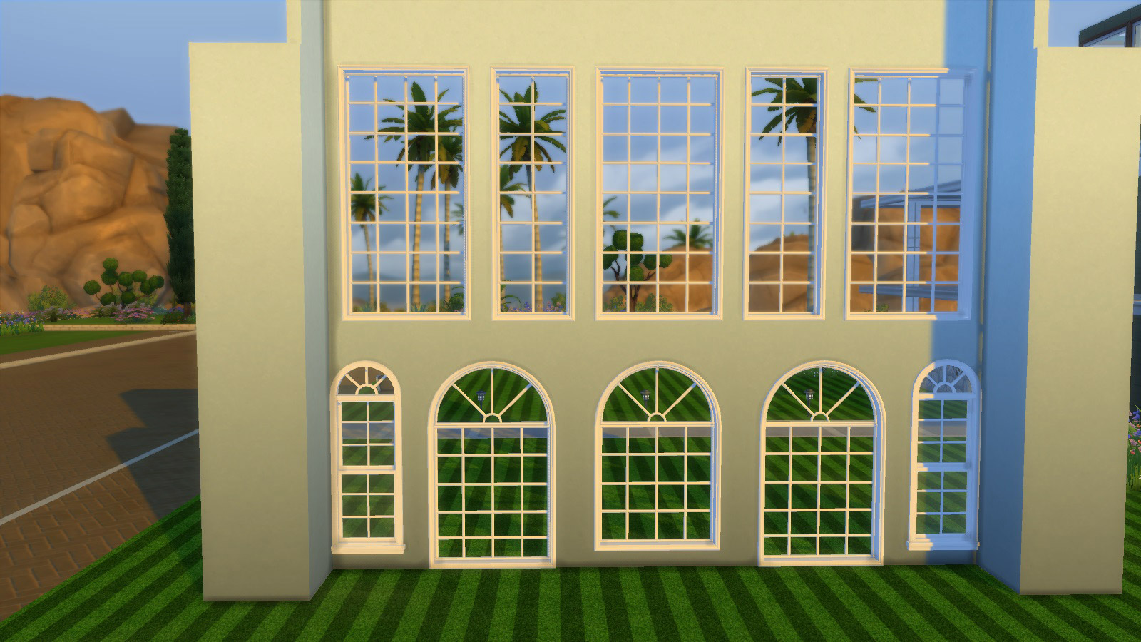 Colonial Build Windows The Sims 4 Catalog